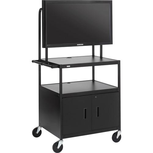 Bretford FP42ULC-E5BK Flat Panel Cabinet Cart
