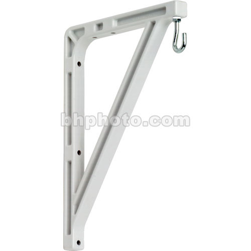 "Bretford 18"" Wall Mounting Brackets (2) for Manual Wall Screen"