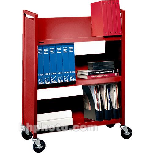 Bretford Duro Series L330 Mobile Book & Utility Truck (Cardinal)