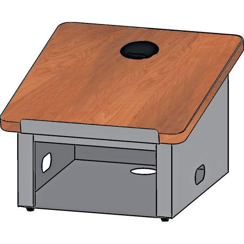 Bretford DLX Tabletop Lectern (Aluminum/Cherry)