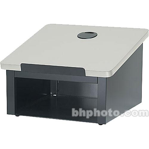 Bretford DLX Tabletop Lectern (Aluminum/Gray Mist)