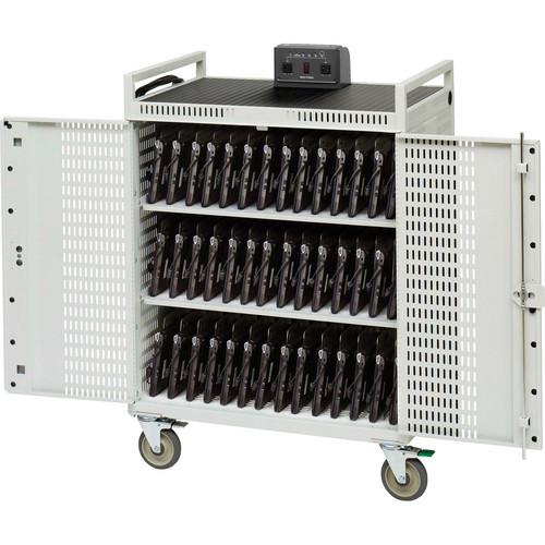 Bretford 42-Unit Micro Computer Netbook Storage Cart
