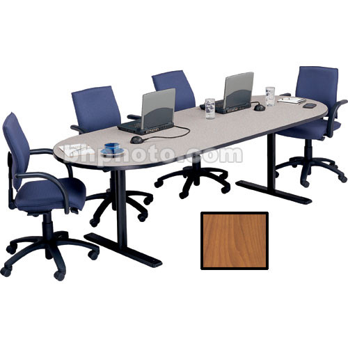 "Bretford 120 x 36 x 29"" Race Track Conference Table - Wild Cherry"