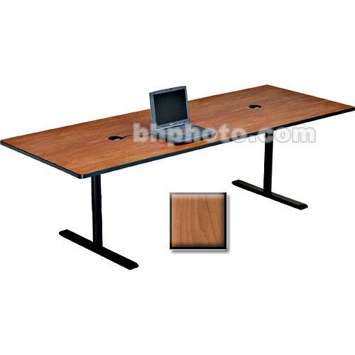 "Bretford 120 x 36 x 29"" Rectangle Conference Table - Cherry"