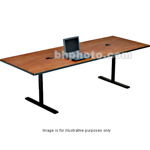 "Bretford 120 x 36 x 29"" Rectangle Conference Table - Storm Nebula"