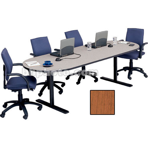 "Bretford 120 x 42 x 29"" Rectangle Conference Table - Cherry"