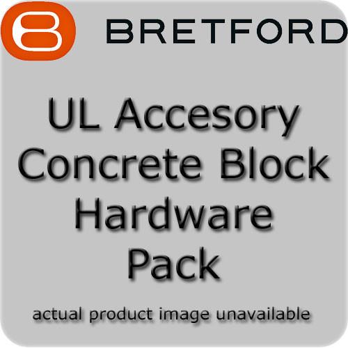 Bretford UL Concrete Block Hardware Pack
