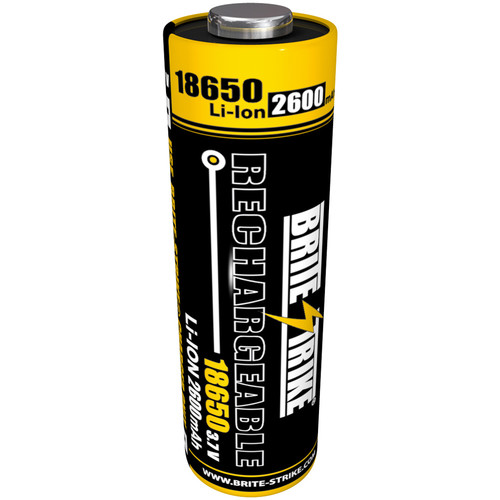 Brite-Strike 18650Li-Ion Rechargeable Battery