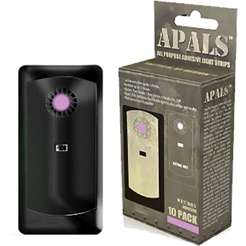 Brite-Strike APALS - All Purpose Adhesive Light Strip (Pink, 10 Pack)