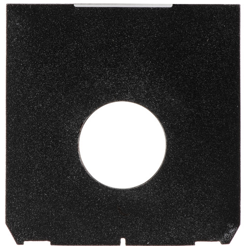 Bromwell 1410 Linhof Technika Size Lensboard with Offset Hole Drilled for Copal #0