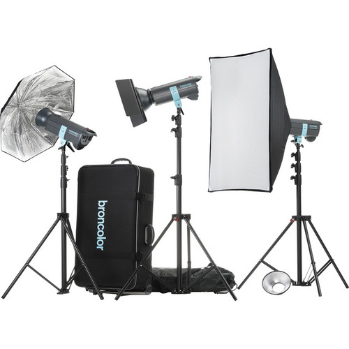 Broncolor Minicom Expert 3 Monolight Kit