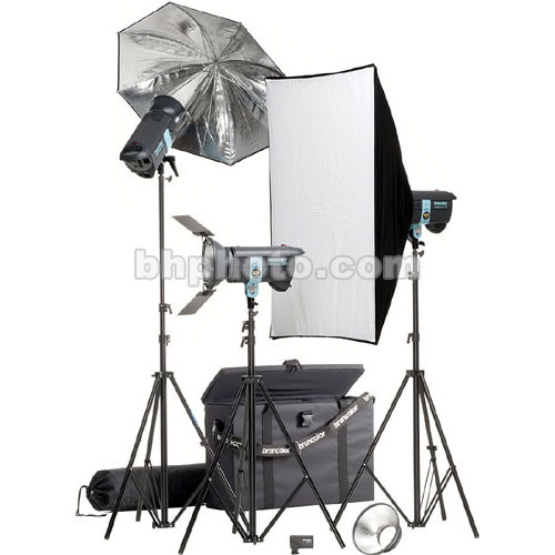 Broncolor Minicom Expert RFS 3 Monolight Kit