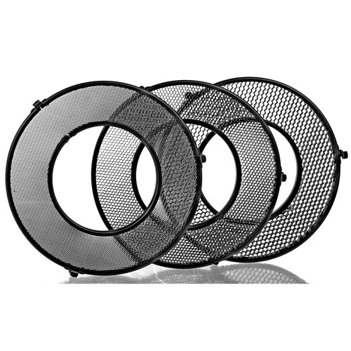 Broncolor Honeycomb Grids for Ringflash C Power Reflector (Set of 3)