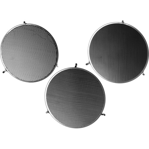 Broncolor Honeycomb Grids for P65, P45, PAR Reflectors - Set of 3