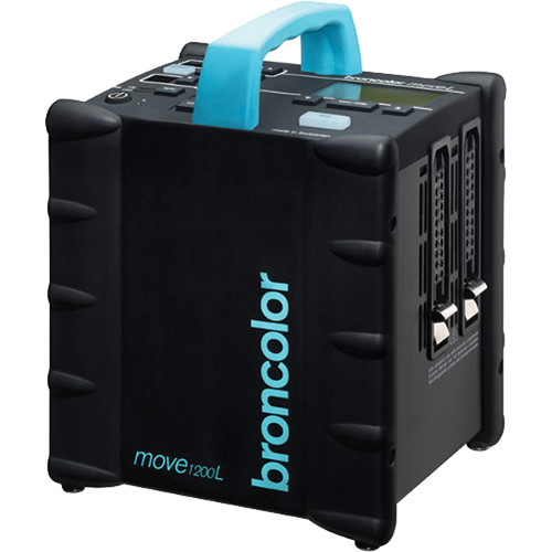 Broncolor Move 1200 L Battery Power Pack with Lithium Battery and Charger