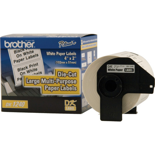 Brother DK1240 Large Multi-Purpose Labels (600 Labels)