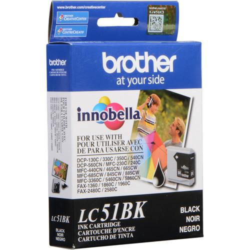 Brother LC51BK Innobella Black Ink Cartridge