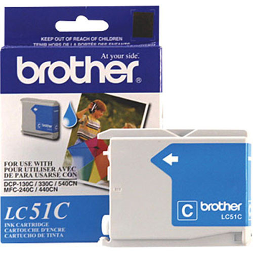Brother LC51C Innobella Cyan Ink Cartridge