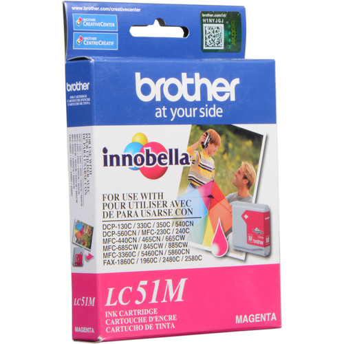 Brother LC51M Innobella Magenta Ink Cartridge