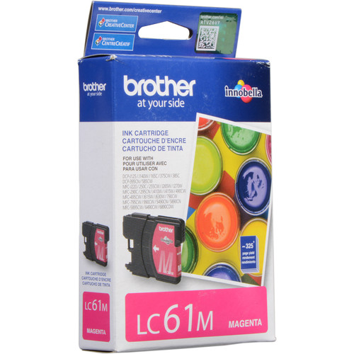 Brother LC61M Innobella Standard-Yield Magenta Ink Cartridge