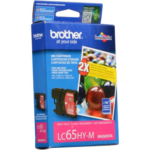 Brother LC65HYM  Innobella High-Yield Magenta Ink Cartridge