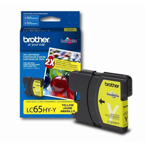 Brother LC65HYY  Innobella High-Yield Yellow Ink Cartridge