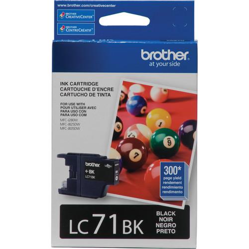 Brother LC71BK Innobella Standard Yield Black Ink Cartridge