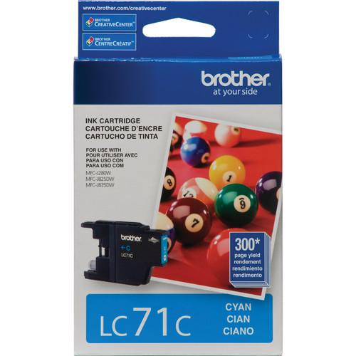 Brother LC71C Innobella Standard Yield Cyan Ink Cartridge