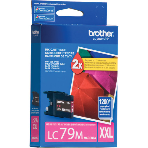 Brother LC79M Innobella Super High Yield XXL Magenta Ink Cartridge