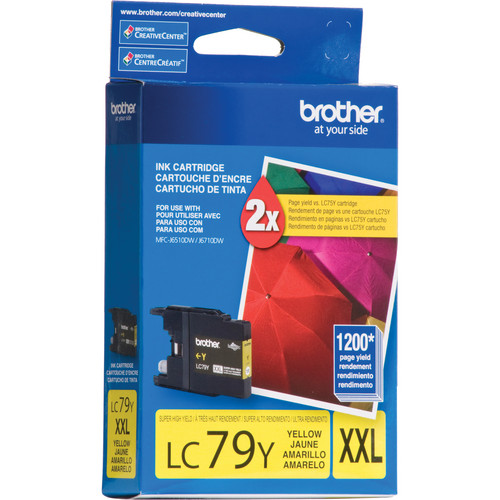 Brother LC79Y Innobella Super High Yield XXL Yellow Ink Cartridge