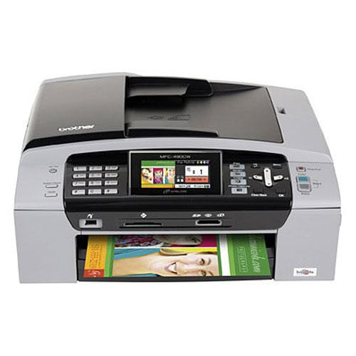 Brother MFC-490CW Color Inkjet All-in-One Printer