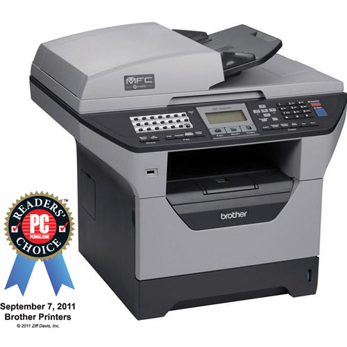 Brother MFC-8480DN  Multi-Function Monochrome Laser Printer w/Networking & Duplex