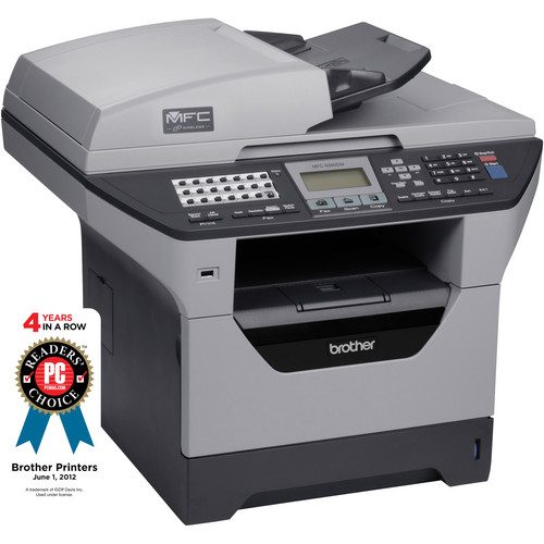 Brother MFC-8890DW All-In-One Monochrome Laser Printer