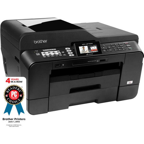 Brother MFC-J6710DW Wireless Color All-in-One Inkjet Printer