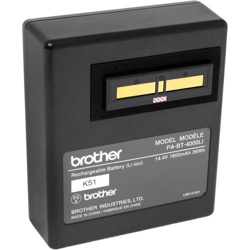 Brother RuggedJet Li-ion Battery For RJ4030-K & RJ4040-K