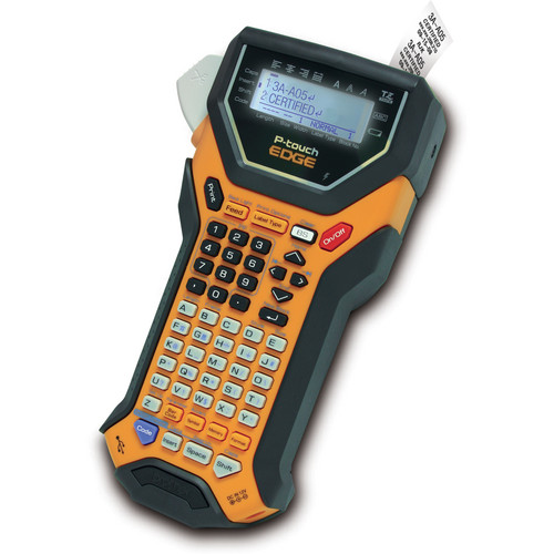 Brother PT-7600 Rechargeable, Download-Ready Industrial Labeling Tool (Orange)
