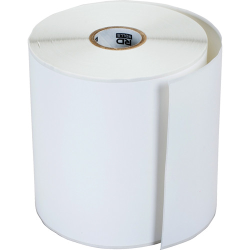 """Brother Continuous Paper Label Rolls (4"""" x 145' Roll, 12 Rolls)"""