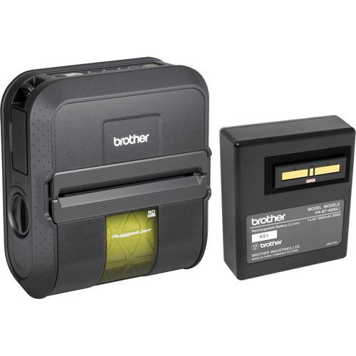 Brother RJ4040-K RuggedJet Mobile Printer Kit With Wi-Fi