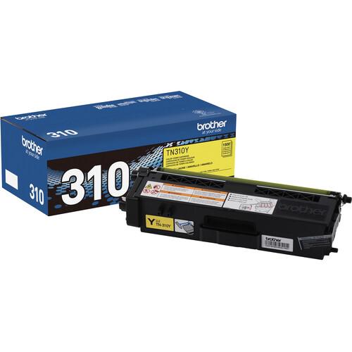 Brother TN310Y Yellow Toner Cartridge