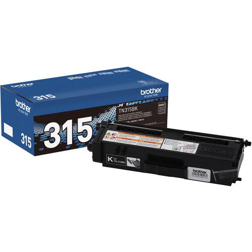 Brother TN315BK High Yield Black Toner Cartridge