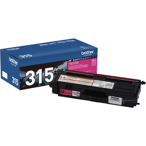Brother TN315M High Yield Magenta Toner Cartridge
