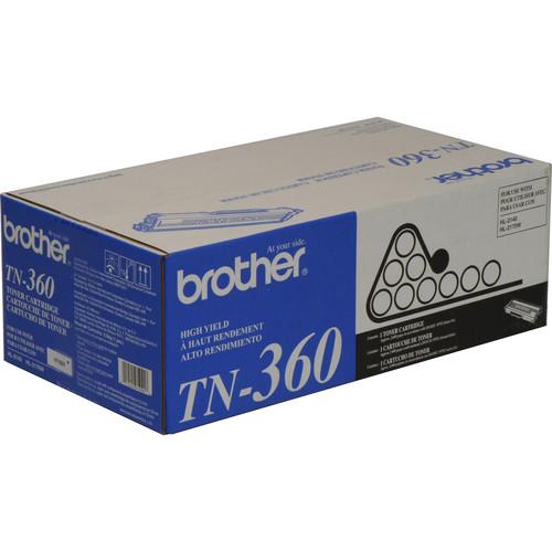 Brother TN-360 High Yield Toner Cartridge