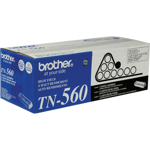 Brother TN560 High Yield Toner Black Cartridge