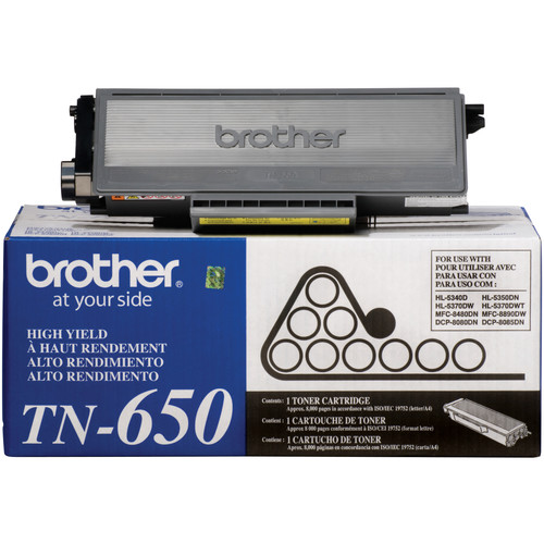 Brother TN650 High Yield Toner (Black)