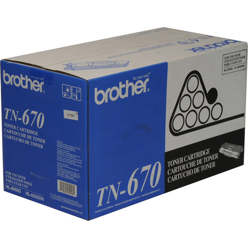 Brother TN-670 High Yield Toner Cartridge