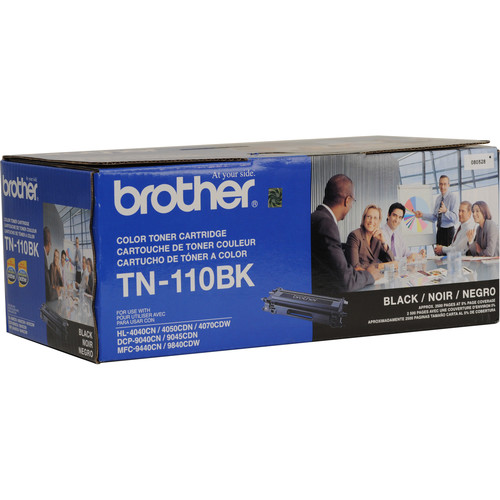 Brother TN-110BK Standard Yield Black Toner Cartridge