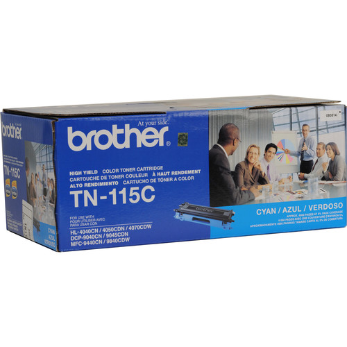 Brother TN-115C High Yield Cyan Toner Cartridge