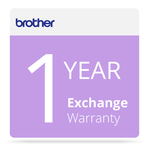 Brother 1-Year Exchange Warranty