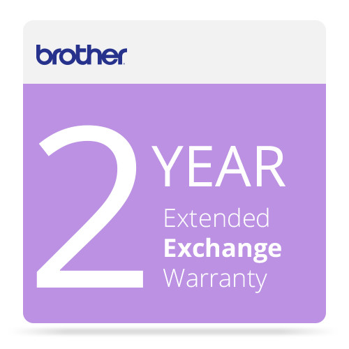 Brother 2-Year Exchange Warranty