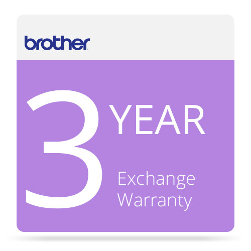 Brother 3-Year Exchange Warranty